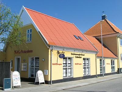 Skagen Mægleren, boligbutik i Skolegade